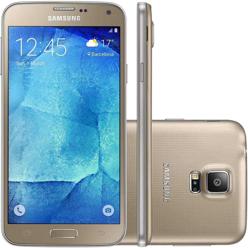 samsung galaxy s5 new edition 16gb dual 4g tela 5 1. Black Bedroom Furniture Sets. Home Design Ideas