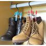 Cabide Organizador - Botas - Calçados - Kit Com 5 Unidades