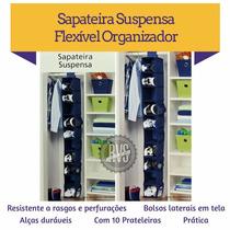 Sapateira Suspensa Tênis Sapato P Closet Guarda Roupa