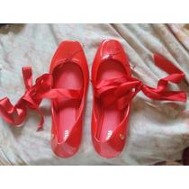 Melissa Ballet - Tamanho 39/40 - Vermelha - Nova