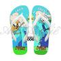 Sandálias Chinelo Havaianas Personalizadas Adventure Time