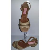 Sandália Salto Baixo - Shekina Calçados