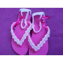 Sandálias Havaianas Bordadas Personalizadas Customizadas