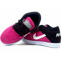 Tenis Nike Botinha Infantil + Air Force Infantil Confortavel