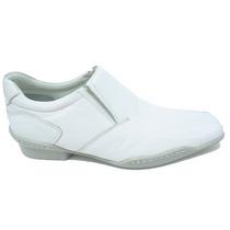 Sapato Social Branco Medico Dentista Hospital Clinicas Lindo