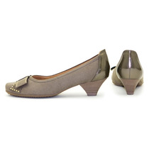 Sapato Piccadilly Maxtherapy Salto Baixo Linda E Confortável