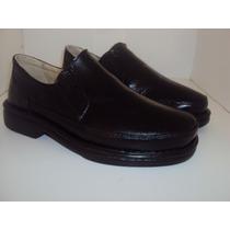 Sapato Masculino Conforto Ref 2540 Cor Preto Calçar Couro !
