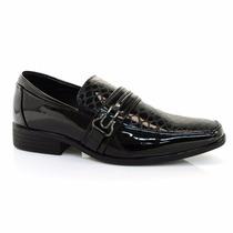 Sapato Social Novo Masculino Verniz+meia/tuccacalçados