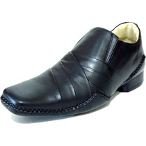 Sapato Social Masculino Stilo Alcalay Couro Franca Jota