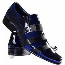Sapato Social De Verniz Masculino- Lançamento! 100% Courolbm