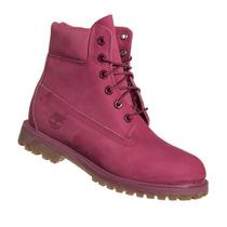 Bota Timberland Feminina Yellow Boot 6 Premium Rosa