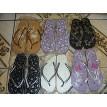 Sandalias Estilo Havaianas Lote Contendo 06 Unidades_promoçã