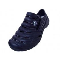 Sapatênis Tênis Kemo Ziper Azul Marinho