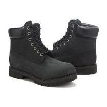 Bota Timberland Boot Black Resistente Confortável Importada