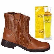 Bota Cravo E Canela 131125 Gratis Perfume Importado