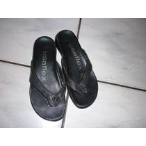 Sandália Usaflex Lindíssima E Super Confortável