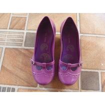 Lindo Sapatinho Estilo Boneca Melissa 35 Púrpura/vinho
