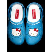 Clog Infantil Hello Kitty Tam 28_excelente Estado!!! Crocs