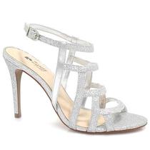 Sandália Zariff Shoes Metalizada Noiva | Zariff