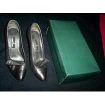 Sapato Feminino Social-czarina All Leather-alta Móda-s.nôvo!