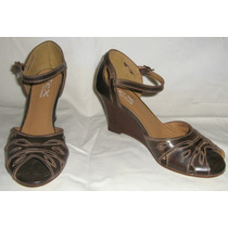Sandália Anabela Tex Shoes Nº 35