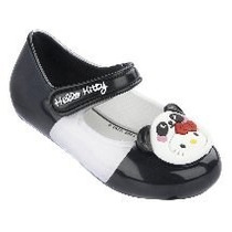 Sapatilha My Hello Kitty Panda Preto Branco