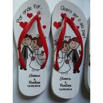 Chinelos Personalizados Para Casamentos, Eventos