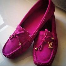 Mocassim Feminino Louis Vuitton Pink - Super Oferta