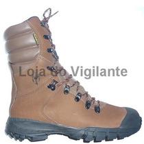 Bota / Coturno Militar Marrom Bahia Comando Dry Impermeavel