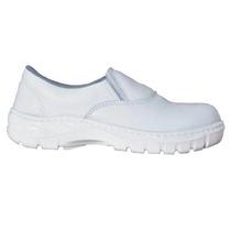 Botina Sapato Segurança Branco
