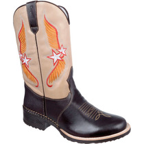Bota Masculina Texana Country Western Rodeo Capelli Ref:6009