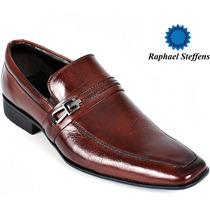 Nº 39 Sapato Social Raphael Steffens Marrom Couro Legítimo