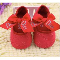 Lindo Sapatinho De Bebe Dior Pra Sua Princesinha!