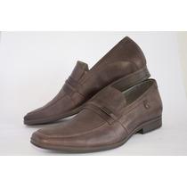 Sapato Masculino Rafarillo Marrom Couro Original+nf