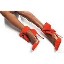 Sapato Peep Toe Lindo, Importado (consulte A Entrega)!