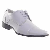 Sapato Social Masculino Branco Médico Enfermeiro Veterinário