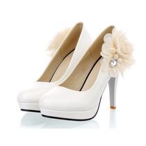 Sapato Scarpin Com Detalhes Em Flores Noivas Calçados Import