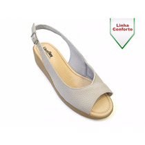 Sandaliafeminina Usaflex Confortável 6112pl
