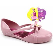 Sapatilha Infantil Grendene Barbie Bailarina 21391 Pixolé