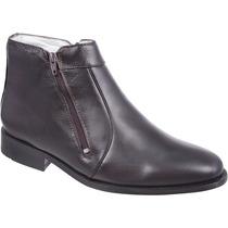 Bota / Botina Social Masculina Couro Capelli Boots