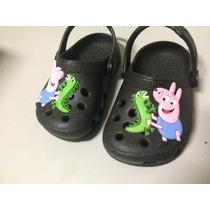 Sapato Infantil Croc Peppa Pig George Pig Luelua 17ao23/24