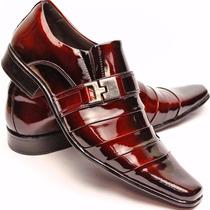 Sapato Social Masculino Verniz Confort Frete Grátis Alcalay