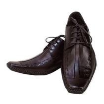 Sapato Social Masculino Mod. Exclusivo Promoção Dhl Calçados