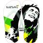 Chinelos & Sandalia Personalizados Havaianas Bob Marley