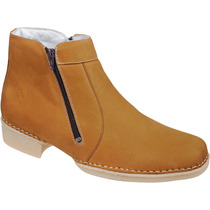 Bota Botina Masculina Couro Legítimo Capelli Boots Ref:1730