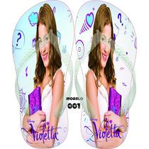 Chinelos Havaianas Personalizados Violetta