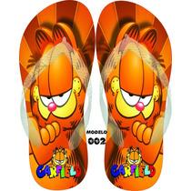 Chinelos Personalizados Havaianas Garfield & Odie