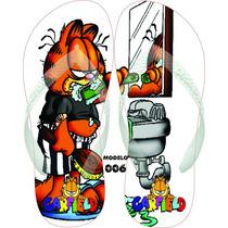 Chinelos & Sandalia Personalizados Havaianas Garfield & Odie