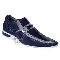 Sapato Social Esporte Fino- Lançamento! 100% Couro -