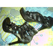 Sandália Gladiadora Feminina N.38 Semi Nova